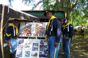 They will come to your school and do a PowerPoint presentation on the history of the Buffalo Soldiers if you wish